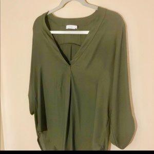 Green LUSH blouse